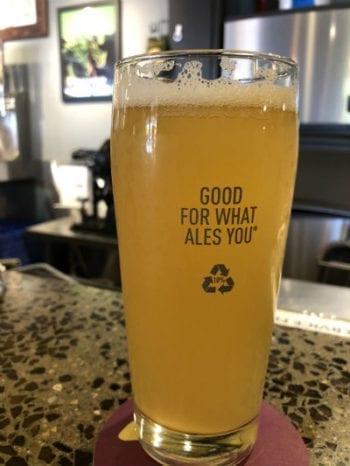 Lime Kellerbier - Wasatch - Beer Tastings - Small