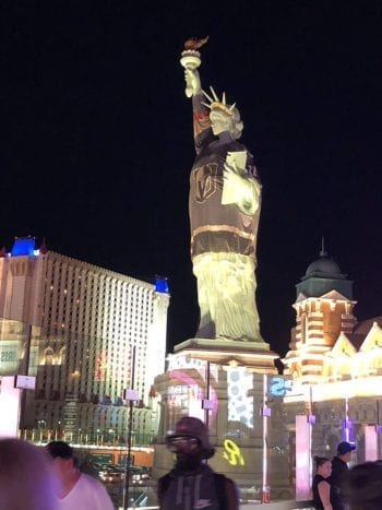 Beer Travels - Las Vegas - Statue of Liberty
