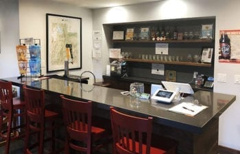 The Mountain West Hard Cider tasting room.