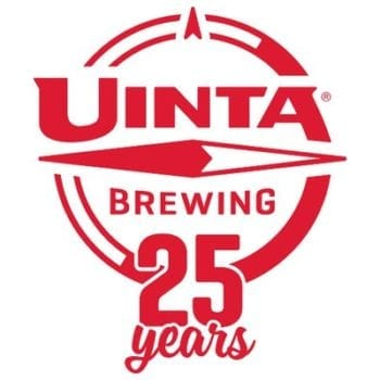 Uinta Brewing Co. 25 Years Logo