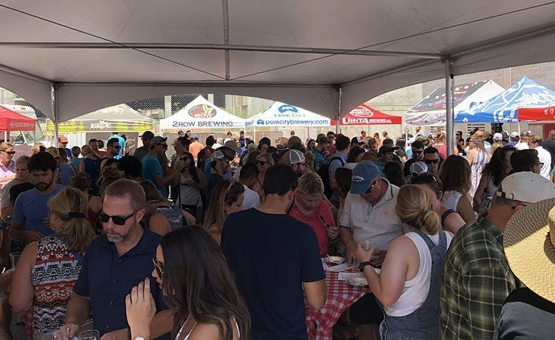 Pie & Beer Day at Beer Bar - Shade Tent