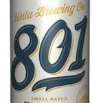Utah Summer BBQ Beers - 801 Pilsner - Uinta Brewing