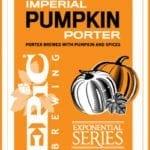 Fall Beers - Utah Beer News - Epic Brewing Imperial Pumpkin Porter