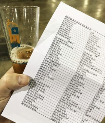 GABF 2018 - Beer Spreadsheet - Utah Beer News