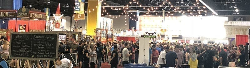 62,000 attendees packed 600,000 square feet of convention space at the Great American Beer Festival in Denver, Sept. 20-22, 2018.