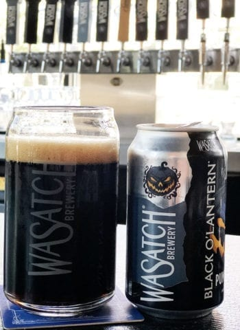 Tastings - Black O'Lantern Pumpkin Stout - Wasatch Brewery