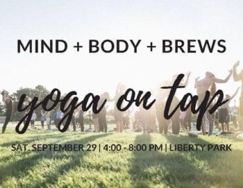 Utah Beer News - Utah Beer Events - Yoga on Tap