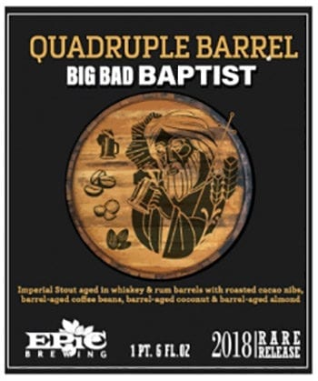 Baptist Season 2018 - Epic Brewing - Logo - Utah Beer News