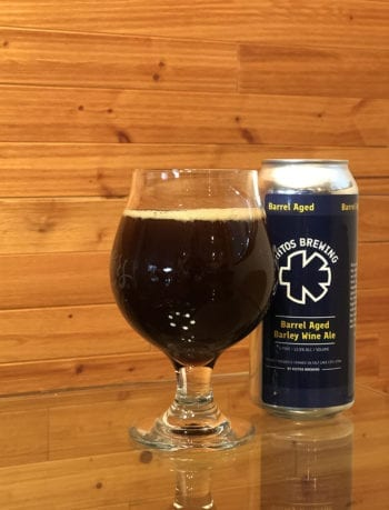 Tastings - Barrel-Aged Barleywine Ale - Kiitos Brewing