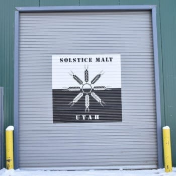 Solstice Malt - James Weed - Outside - Utah Beer News