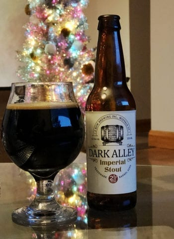 Tastings - Dark Alley Barrel-Aged Imperial Stout - 2 Row Brewing