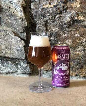 Wasatch Kick-Back Series - Utah Beer News Double IPA