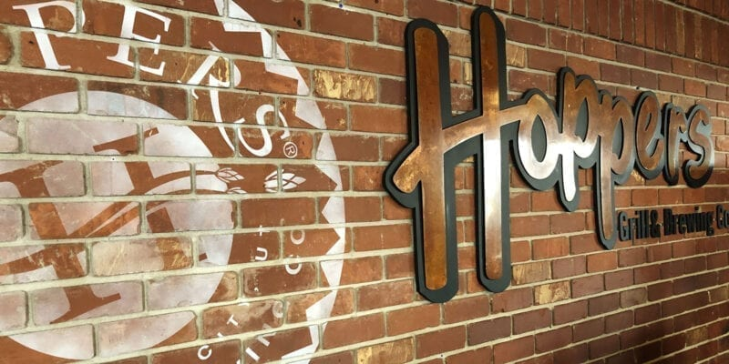 Hoppers Grill and Brewing - Inside - Utah Beer News