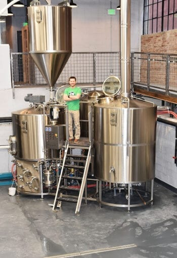 UTOG Brewing - Carson Foss Brew Pit Vertical - Utah Beer News