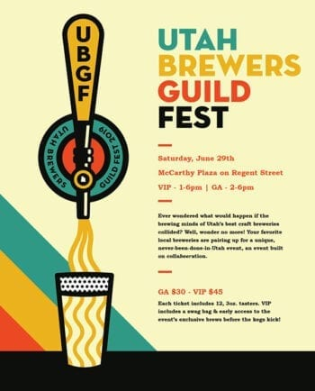 Utah Brewers Guild Fest Poster