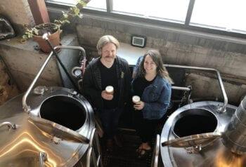 Hopkins Brewing - Chad Hopkins - Alicia Border - Brewhouse - Utah Beer News