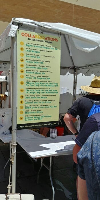 14 collaboration beers brewed by 28 Utah-based breweries were the star attractions at the inaugural Utah Brewers Guild Fest, held June 29, 2019 in Salt Lake City.