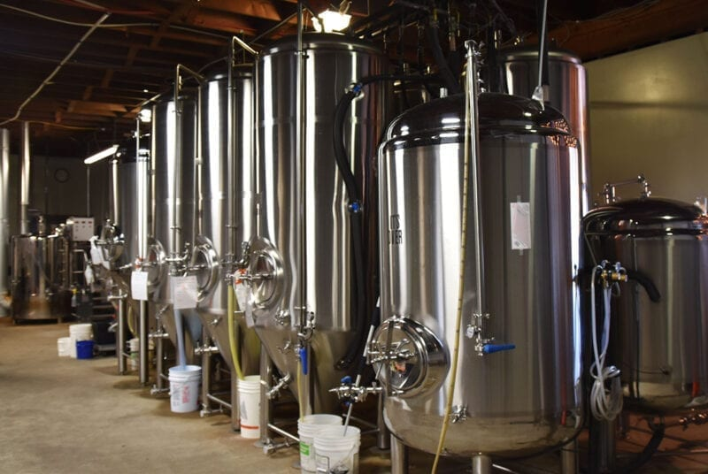 Talisman Brewing Company - Brew Tanks