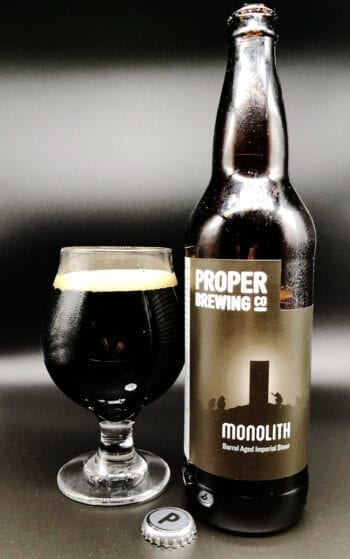 Monolith - Proper Brewing Co. - Utah Beer News