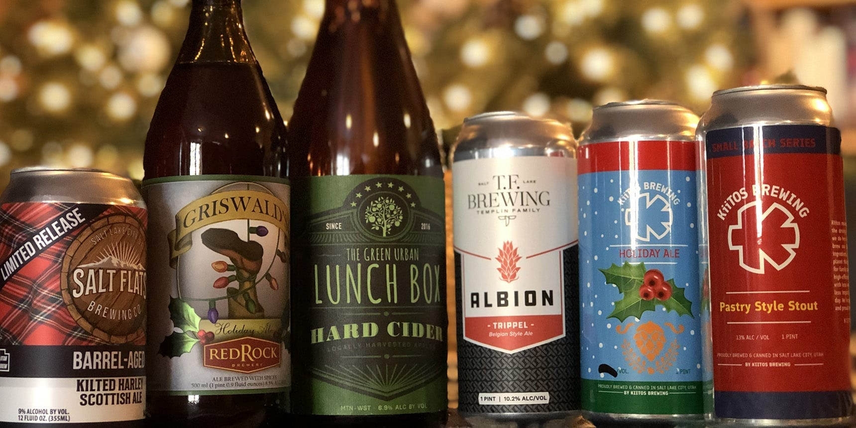 Utah Holiday Beers 2019 - Featured